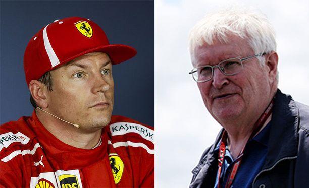 Kimi Räikkönen-Heikki Kulta on F1-varikoiden tuttu suomalaistandemi.