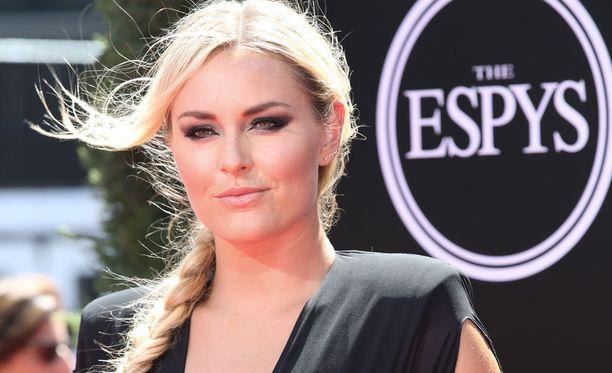 Lindsey Vonn esiintyi hyväntuulisena ESPYS-gaalassa.