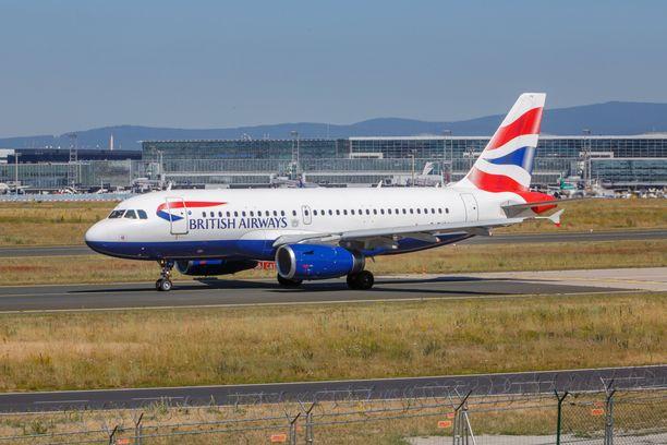 British Airwasyin asiakkaiden tiedot vuosivat nettisivujen ja sovelluksen kautta loppukesästä 2018.