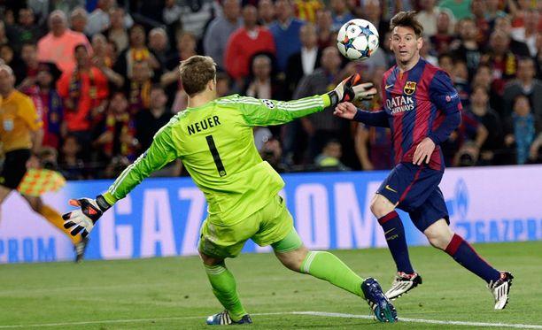 Manuel Neuer teki mitä voi. Lionel Messi oli pysäyttämätön.