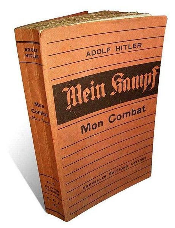 Mein Kampfin ranskankielinen versio vuodelta 1934.