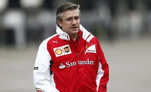Pat Fryn työ Ferrarilla on tulossa päätökseensä.