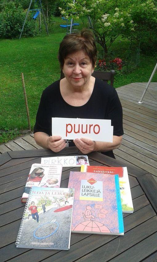 Pirkko Karvonen kehitteli päiväkoti-ikäisille lapsille lukuleikkimenetelmän.