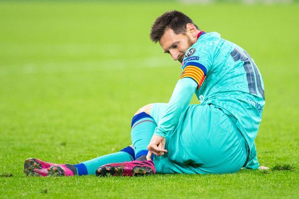 Lionel Messin alkukausi on ollut todella rikkoinainen.
