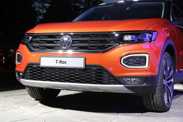 Volkswagenin uusi keulanilme.