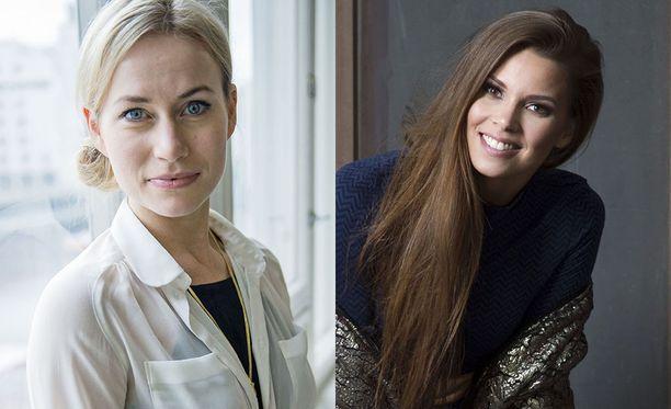 Minka Kuustonen ja Viivi Pumpanen joutuivat Possessa kovan paikan eteen.