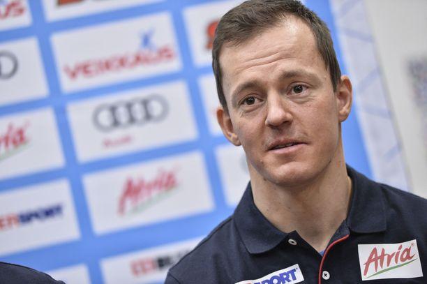 Sami Jauhojärvi tykitti kovan tuloksen Cooperin testissä.