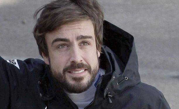 Fernando Alonso ei aja F1-kauden avauskisassa.
