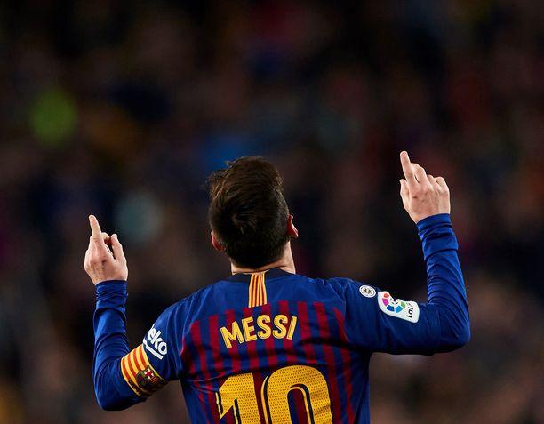 Lionel Messi on ylivoimaisesti Barcelonan tärkein pelaaja.