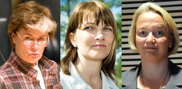 Ministerit Astrid Thors, Mari Kiviniemi ja Tuija Brax ovat poissaolotilaston kärjessä.