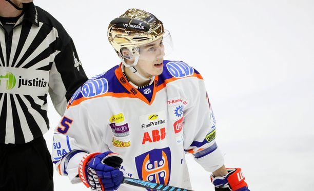 Henrik Haapala on ensi kaudella Panthersin mies.