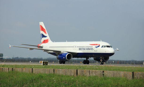 British Airwaysin lento Tokioon palasi takaisin Lontooseen, kun jo yli puolet matkasta oli lennetty. Arkistokuva.