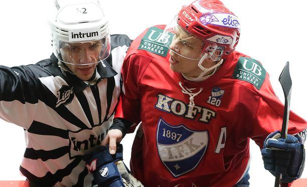 HIFK:n Ville Varakas sai torstaina suihkutuomion.