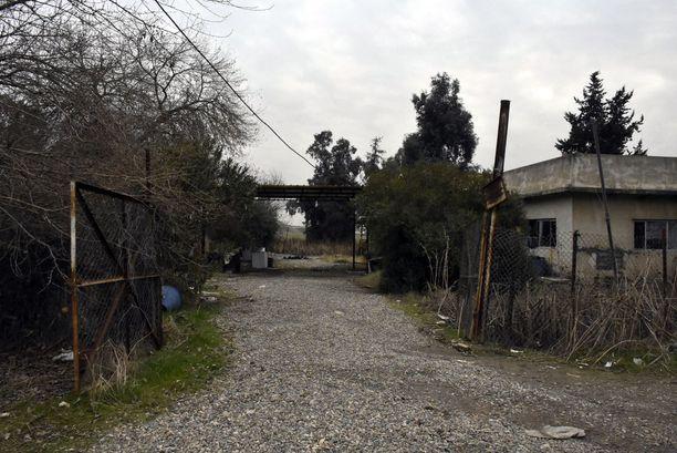 """Isisin kemiallisten aseiden """"tehdas"""" sijaitsi tässä pihapiirissä."""