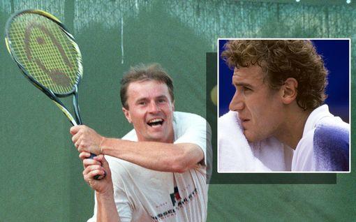 """""""Uskomattoman oudot"""" lyönnit siivittivät Suomen tennisihmettä tasan 30 vuotta sitten – Veli Paloheimon kummallinen tyyli jäi elävästi Mats Wilanderin mieleen"""