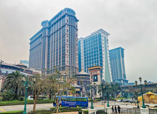 Macaon massiivinen Sands Cotai Central.