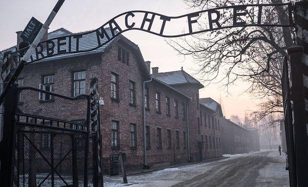 Yksi pahamaineisimmista tuhoamisleireistä oli Auschwitz Puolassa.