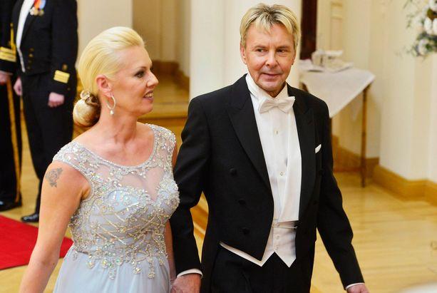 Matti Nykänen kertoo riidelleensä Pia-vaimon kanssa.