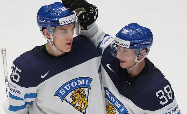 Atte Ohtamaa teki Suomen voittomaalin ajassa 36.22.