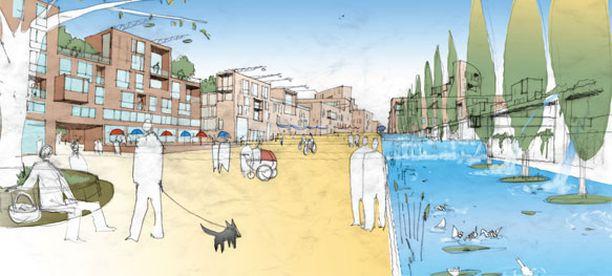 Suunnittelijoiden mukaan hyvätuloiset asukkaat haluavat tulevaisuudessa asua tiiviillä alueilla.