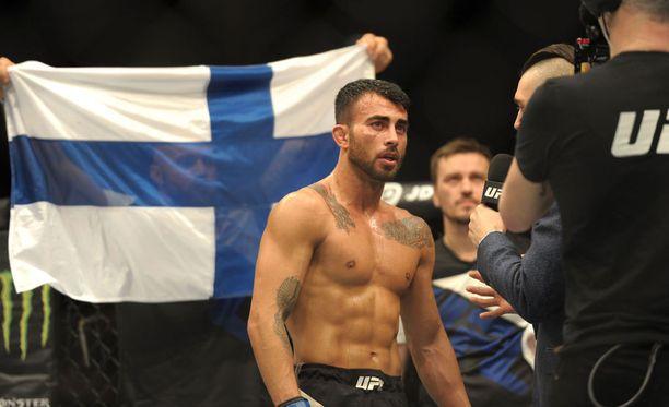 Makwan Amirkhani haluaa palavasti UFC:n Suomeen.