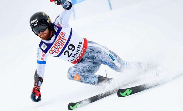 Samu Torsti pääsi yllättäen olympiarinteeseen.