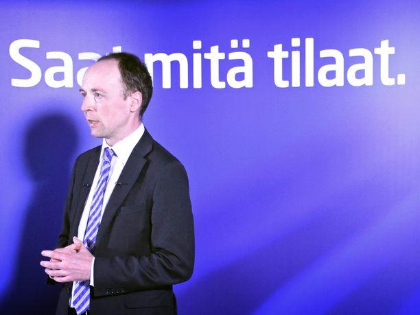 Perussuomalaisten puheenjohtaja Jussi Halla-aho sanoo, että hän ei ole lukenut puolueensa ajatuspajan tuoretta julkaisua.
