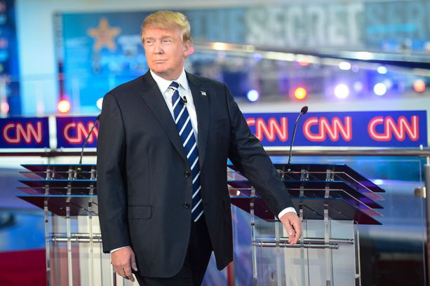 Donald Trumpilla on paljon kannattajia, mutta myös huomattavan runsaasti vastustajia.