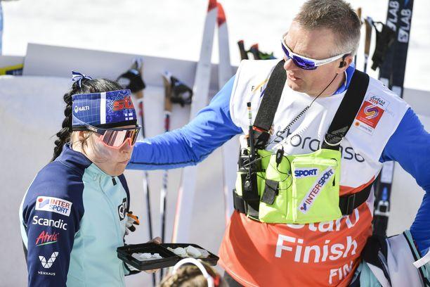 Krista Pärmäkoski ja Matti Haavisto ovat tehneet menestyksekästä yhteistyötä.
