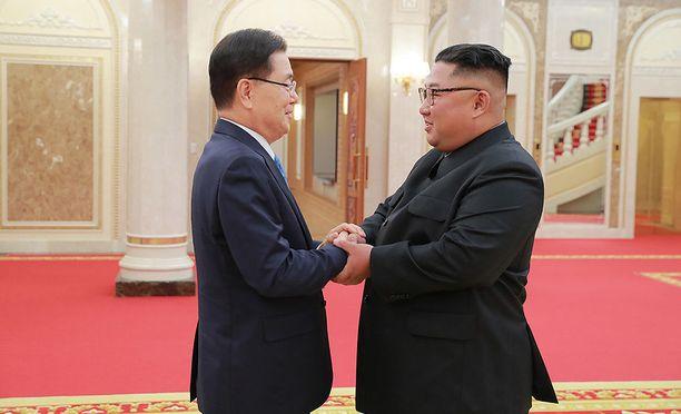 Kim Jong-un on edelleen sitoutunut Korean niemimaan ydinaseriisuntaan.