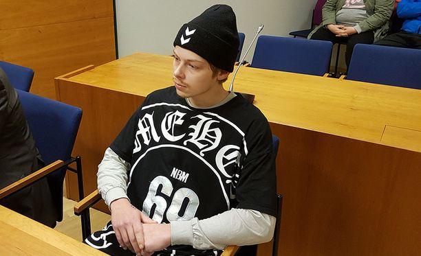 Oskari Topias Sylve tuomittiin elinkautiseen murhasta Pirkanmaan käräjäoikeudessa lokakuussa.