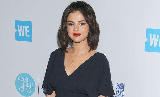 Selena Gomez aloitti näyttelemisen 7-vuotiaana.
