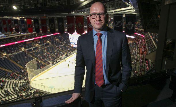 Jarmo Kekäläinen toimii Leijonien World Cup -joukkueen vara-gm:nä.