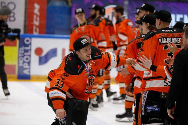 Tuore Suomen mestari Emil Larmi siirtyy Pohjois-Amerikkaan.