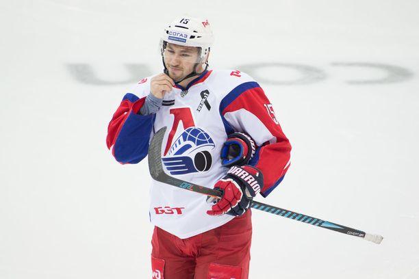 Brandon Kozun on tehokas pelaaja KHL-tasolla.