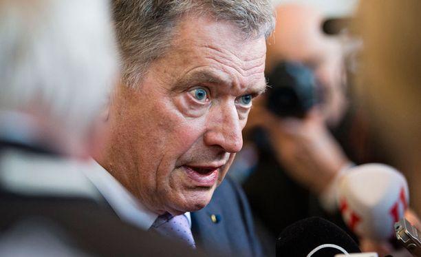 Presidentti Sauli Niinistö järkyttyi Valtterin kokemasta rasismista.