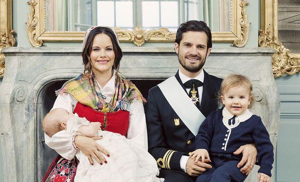 Prinssi Carl Philipin perhe