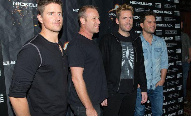 Nickelback on pitänyt yhtä jo 20 vuotta.