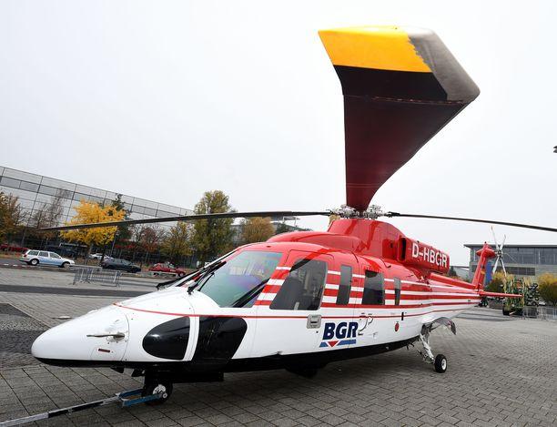 Havainnollistava kuva Sikorsky S-76B -helikopterista. Kyseessä ei ole Kobe Bryantin käyttämä kopteri.