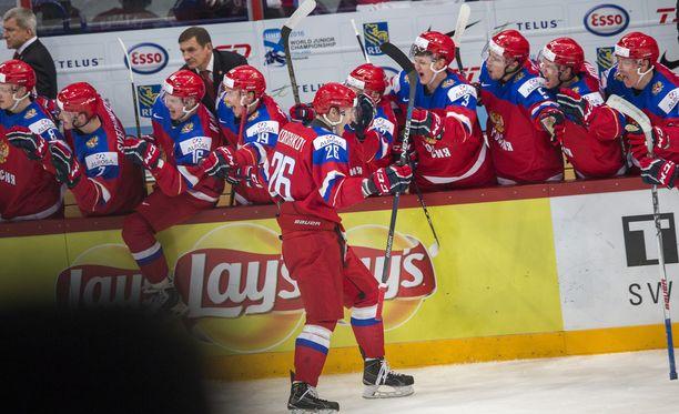 Venäjä kohtaa nuorten MM-finaalissa kotijoukkue Suomen.