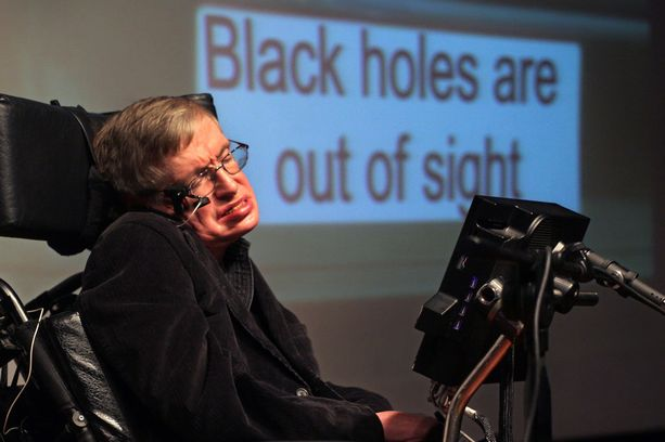 Fyysikko Stephen Hawking kuoli 14. maaliskuuta.