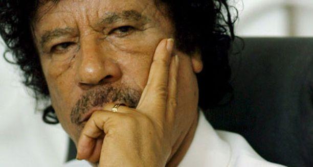 Muammar Gaddafi eli viimeiset päivät pelon vallassa.