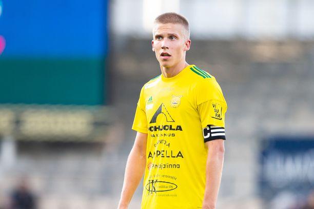 Ilveksen Lauri Ala-Myllymäki osui kolme kertaa Shamrock Roversia vastaan.
