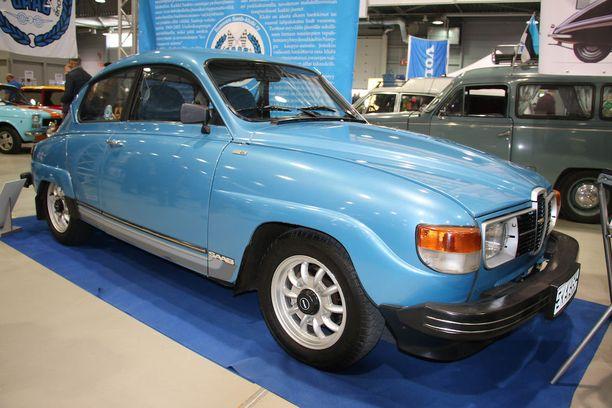 Yksi viimeisistä Saab 96:sista. Suomessa tehty.