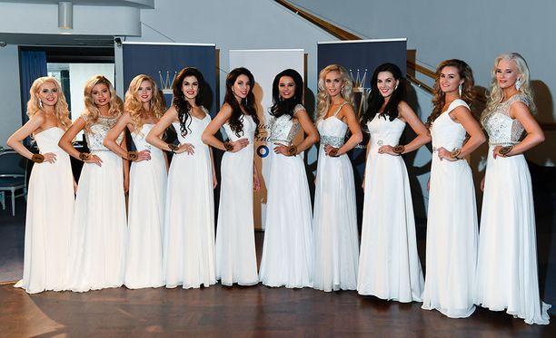 Miss Suomi -finalistit esiteltiin medialle 7.9.