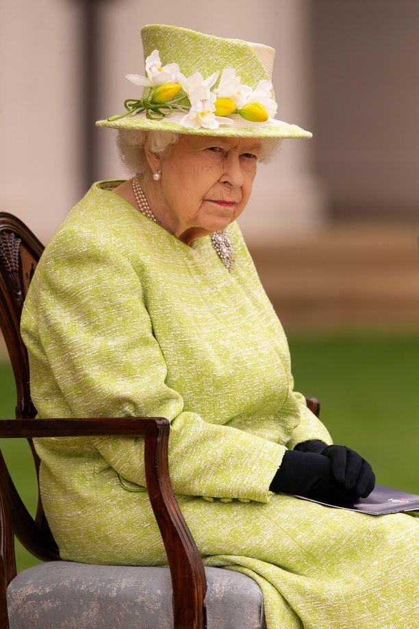 Kuningatar Elisabetin elämänkumppani on poissa.