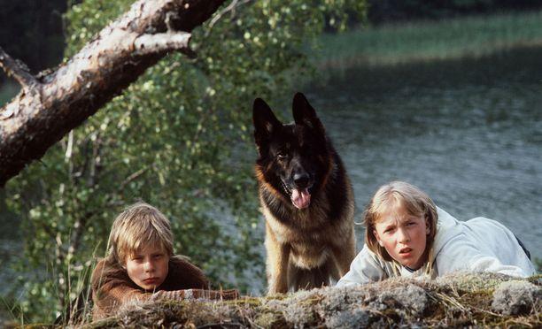 Rane, susikoira Roi ja Tomi seikkailevat saaristossa.