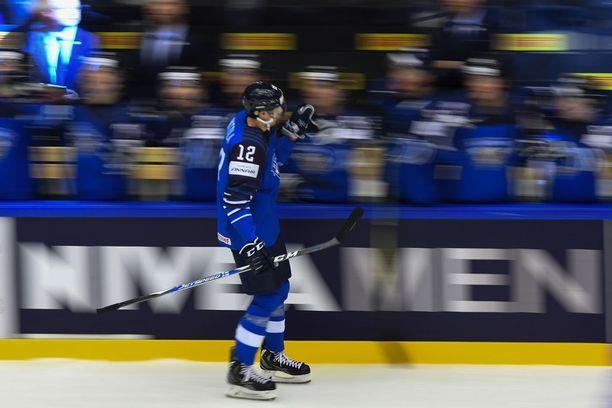 Anttilan saldo MM-Tanskassa on kuuden ottelun jälkeen 1+2.