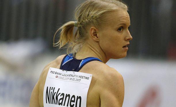 Minna Nikkanen rikkoi MM-rajan.