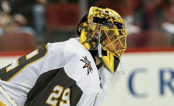 Marc-Andre Fleury siirtyi kesän laajennusdraftissa Las Vegasiin.